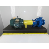 "Flow Serve PE1YA5.25 10Hp 3""x1-1/2"" Stainless Centrifugal Pump Package 230/460V"