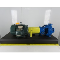 "Durco 7.5Hp 1-1/2""x1"" Stainless Steel Centrifugal Pump Package 230/460V"