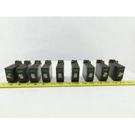 Idec NRC-111 7A-AA 1A 5A 7A 10A 250V 50/60Hz Circuit Breaker Mixed Lot Of 9