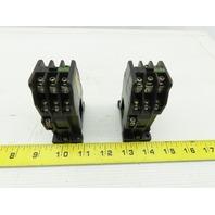 Fuji SRC50-2F/X Magnetic Contactor 110V Coil Lot Of 2