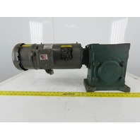 Reliance 30Q30L14 Inline Gear Motor 30:1 Ratio  208-230/460V 3Ph W/Brake
