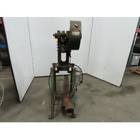 """Alva Allen BT5 Mechanical OBI Punch Press 5 Ton 1-1/2"""" Stroke 4"""" Throat 115/230V"""