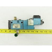 MAC 811C-PM-111A-152 Pneumatic Air Solenoid Valve W/PME-11AAAA 120V Coil