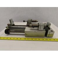 "PHD SEC25x6-BS-BT-G Linear Slide & Cylinder Assembly 6"" Stroke W/2 Dampers"