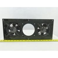 Orix MU1238A-11B 100VAC Enclosure Cooling Fan Lot Of 2