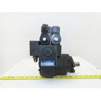 """Daikin EDM 174A-1R2-3-10-052 Hydraulic Motor W/ Valves 1"""" Shaft"""