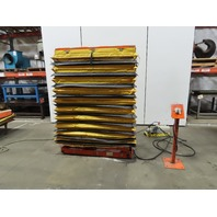 """500 LB Cap Air Over Hydraulic Lift Table 54""""x19"""" Top 17-1/2"""" To 76-1/2"""" High"""