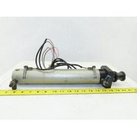 """2-1/4"""" Bore 9-3/4"""" Stroke Double Acting Air Cylinder"""