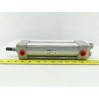 "SMC NCA1D200-0600 Pneumatic Air Cylinder 2"" Bore 6"" Stroke 250PSI Max"