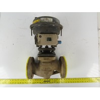 "Samson 3372-3602031113200000000-0000-01 3"" Pneumatic Actuated Control Valve"