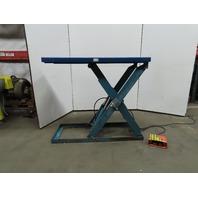 """Advanced Lift Hydraulic Scissor lift Table 65""""x24"""" 230/460V 3Ph 2000lb cap"""