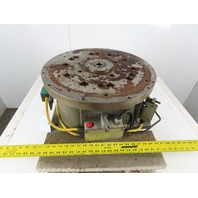 "Graham 20-20V 20"" Hydraulic Rotary Turntable Positioner 5 Stop 360° 1-1/4"" Bore"