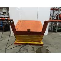 "American 4000Lb Pneumatic Scissor Lift & 30° Tilt 68""x50"" Table 17 to 42"" Height"