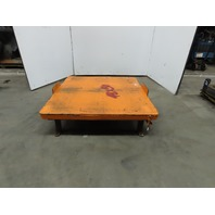"50""x48"" Pallet/Box /Basket Material Handling 360° Turn table 12"" High"