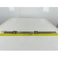 "THK RSR 15WV 42mm Wide Linear Guide Rail Low Profile Bearings 34-1/4"" OAL"