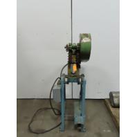 "Alva Allen BT5 Mechanical 5 Ton OBI Punch Press 1-1/4"" Stroke 4"" Throat 3Ph"