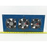 Orix MU1238A-11BN 3 Fan Cabinet Cooling Unit 115V