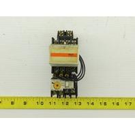 Fuji SC-0 TR-0N/3 600V 5Hp Contactor 4-6 Amp Trip Overload