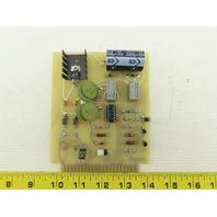 Laser Applications 3000521 Shutter Control Circuit Board Card PCB