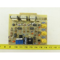 Laser Applications 3000477-B SRC Control Circuit Board Card PCB