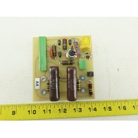 Laser Applications 3000489 Voltage Doubler  Control Circuit Board Card PCB