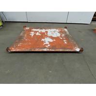 "60""x50"" Pallet/Box /Basket Material Handling 360° Turn table 2-1/2"" High"