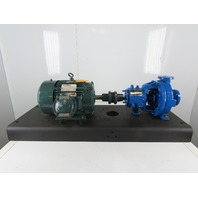 "Flow Serve PE1YA5.25 7.5Hp 1-1/2x1"" Stainless  Centrifugal Pump Package 230/460V"