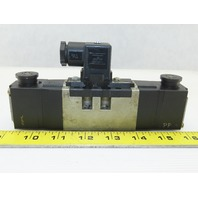 SMC VS7-6-FHG-D-1Z 4/3 Position Closed Center Pneumatic Solenoid Valve 100V Coil