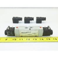 Oringa PA10313-0233 5/2 Way Pneumatic Valve 24VDC