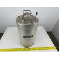 Spraying Systems 304 Stainless Steel General Purpose Pressure Vessel Tank 10 Gal