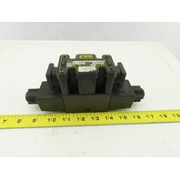 Parker D1VW20DNYCF 75 Hydraulic Directional Valve 120VAC 1500psi
