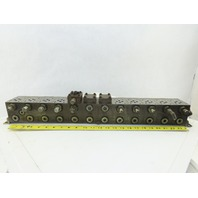 Daman 0399 DD09PI22S Hydraulic Valve Manifold Block 12 Ports
