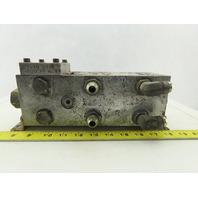 Daman 0102 AD05P033S/C Hydraulic Valve Manifold Block 3 Ports