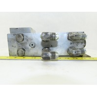 SFP10013 Hydraulic Valve Manifold Block 3 Ports