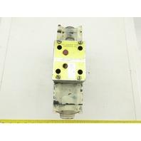 Rexroth 4WE10J21/AW110NDLK25V Hydraulic Directional Control Valve Z2FS10-5-31/V