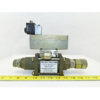 "CO-AX VMk152C140VTB3/4L20VXXXP1A 3/4"" Actuated Valve 0-40 BAR"
