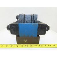 Rexroth 4WE110J40/CW110N9DK25L Hydraulic Control Valve W/120V Coil