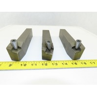 "Dijet MSBNR-865K4 1-1/2x1"" Mixed Size Indexing Insert Lathe Tool Holder Lot Of 3"