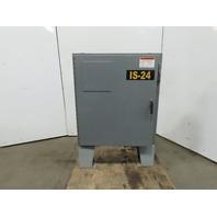 "Hoffman A42SA3808LP Free Standing Electrical Enclosure 42x37x8"" W/30A Disconnect"