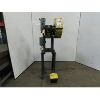 """Rousselle 0E Mechanical 5 Ton OBI Punch Press 2"""" Stroke 4"""" Throat 208-230/460V"""