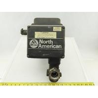 """North American 1519-2 Motorized Shutoff Valve 1-1/4"""" NPT 100PSIG 120V"""