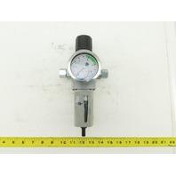 """Parker P32EB14EGABNNP Air Pneumatic Filter Regulator 0-8Bar 1/2"""" BSPP"""
