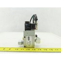 Parker PA12719-0033-00 S9 381S-RF-1/4-NG Pneumatic Valve W/24VDC KZ3673 Coil