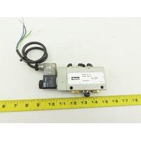 Parker PA12681-0033-00 S9 581S-RF-1/4 Pneumatic Valve W/24VDC KZ3673 Coil