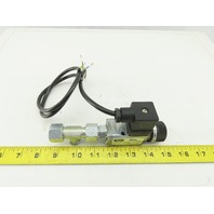 Parker KL3202 Adjustable Pneumatic pressure Switch 0.5-8 Bar 250V Max 6A