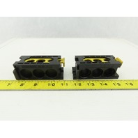 Rexroth 898 500 392 2 Valve Manifold Intermediate Plate Lot of 2