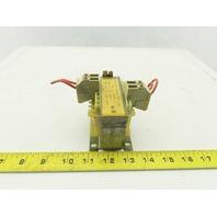 Siemens 4AM4812-0DB 115V Primary 24V Secondary 1Ph 100VA Transformer