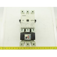 Siemens 3TF50 3UA60 00-2X 600V 150A Contactor motor starter 80-110A Overload