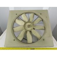 "Siemens 2CC2636-1CA9 24"" 200-230V 1100RPM 50/60Hz Low Pressure Axial Wall Fan"