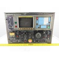 Fanuc A61L-0001-0093 Operator Control Panel Monitor Display HMI From CNC Lathe